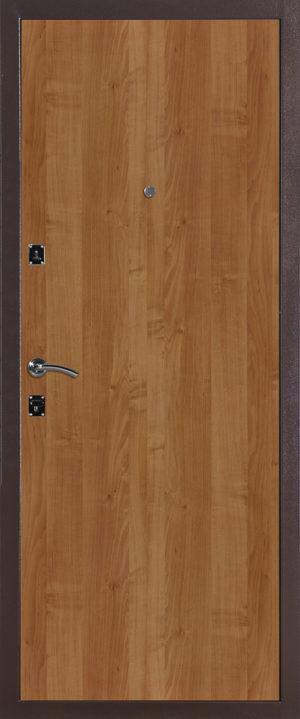 Входная металлическая дверь 130 беленый дуб