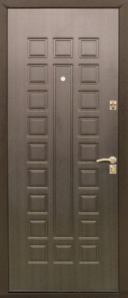 Дверь модель эконом-класса 131 - 0486 (венге)