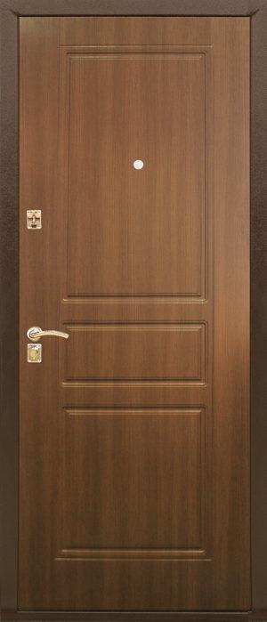Входная металлическая дверь 131 0810 (шоколадный дуб)