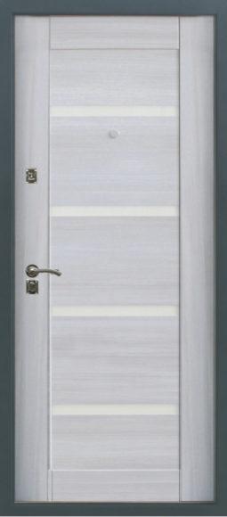 Входная металлическая дверь 1812 0543 (беленый дуб)