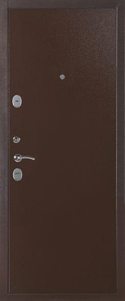 Дверь Модель 544 металл-металл (Медный Антик)