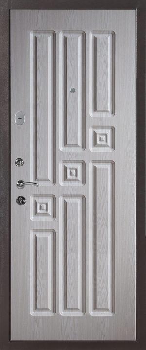 Дверь Модель 557 -1662 (выбеленный дуб)