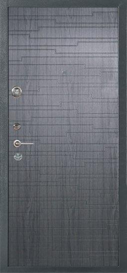 Входная стальная дверь 578 серебро