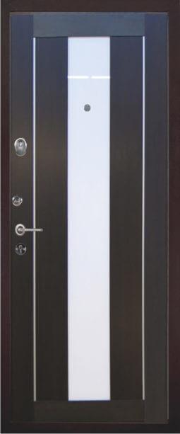 Входная металлическая дверь 5736 121Б (темный кипарис)