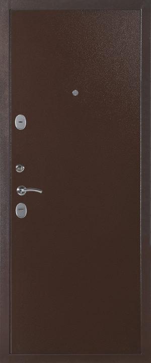 Дверь модель 594 металл-металл (Медный Антик) внутренняя