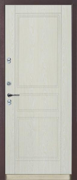 Входная металлическая дверь 601 ТЕРМО 4010 (темный дуб)