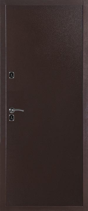 Дверь модель 6034 металл-металл (Медный Антик) внутренняя