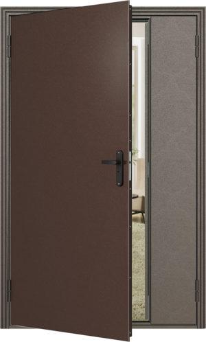 Дверь модель 764 металл-металл (Медный Антик)