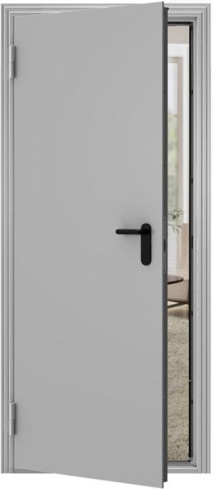 Дверь Модель ПДС металл-металл (RAL 7038 серый)