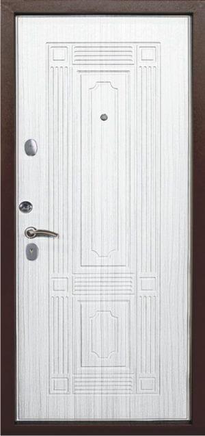 Входная металлическая дверь 541 0587 (беленый дуб)