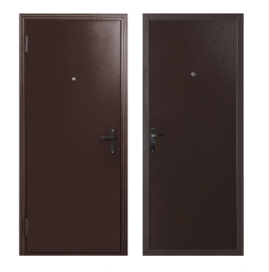 Входные металлические двери в загородный дом