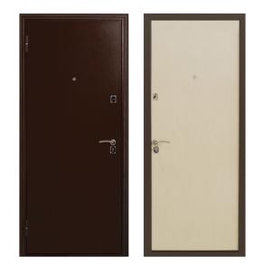 Входные металлические двери в коттедж