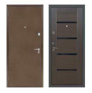 Входные двери с покрытием экошпон