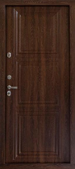 Входная металлическая дверь 607 ТЕРМО 602 (коньяк)