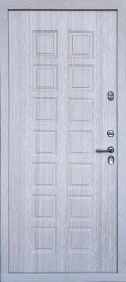 Входная металлическая дверь 609 ТЕРМО 601 (капучино)
