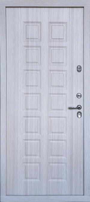Входная металлическая дверь 607 ТЕРМО 601 (капучино)